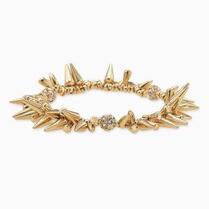 Stella and Dot Renegade cluster bracelet gold
